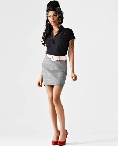 u n t y t e l d: Amy Winehouse for Fred Perry Available Now