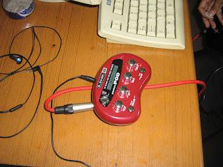 Purge brain: line6 pocket pod, 32 amp on your pocket.