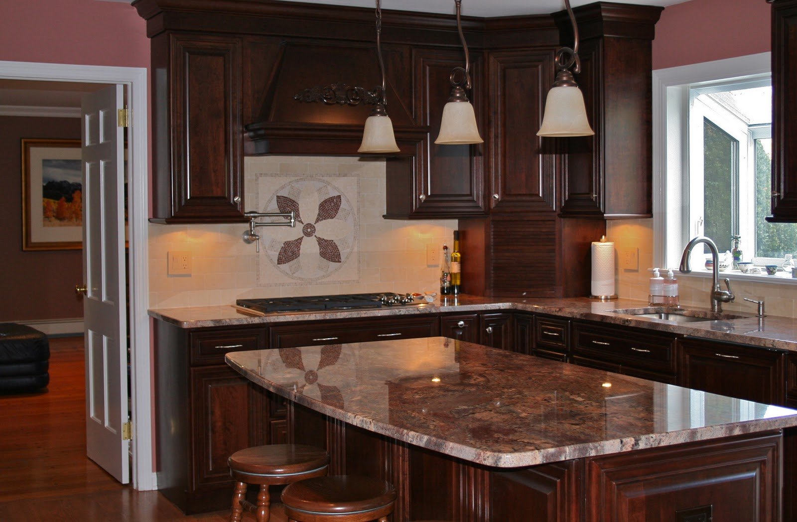 Color Forte: Jewel Of A Kitchen
