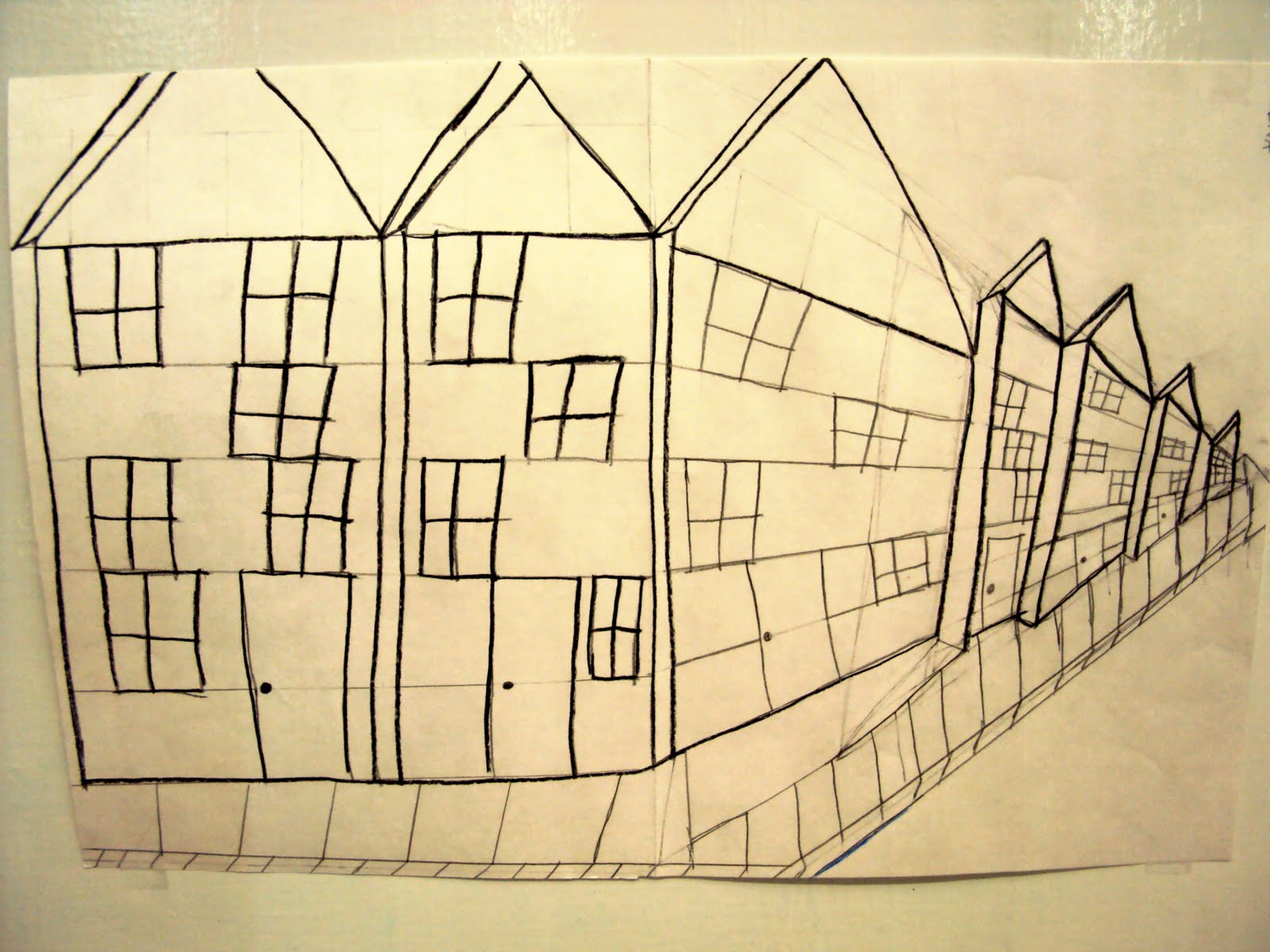 Michael J. Perkins School Blog: How to Draw a Building ...