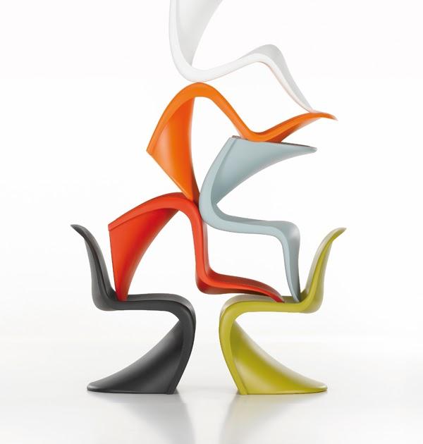 original e imitaci n panton chair espacio de inspiracion. Black Bedroom Furniture Sets. Home Design Ideas
