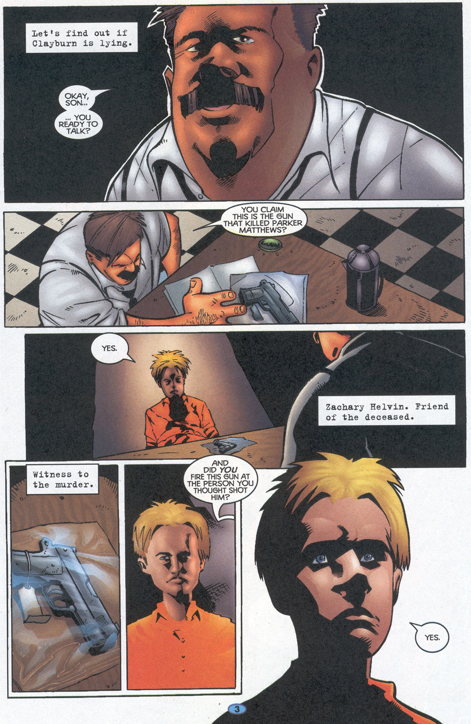Read online Troublemakers comic -  Issue #12 - 4
