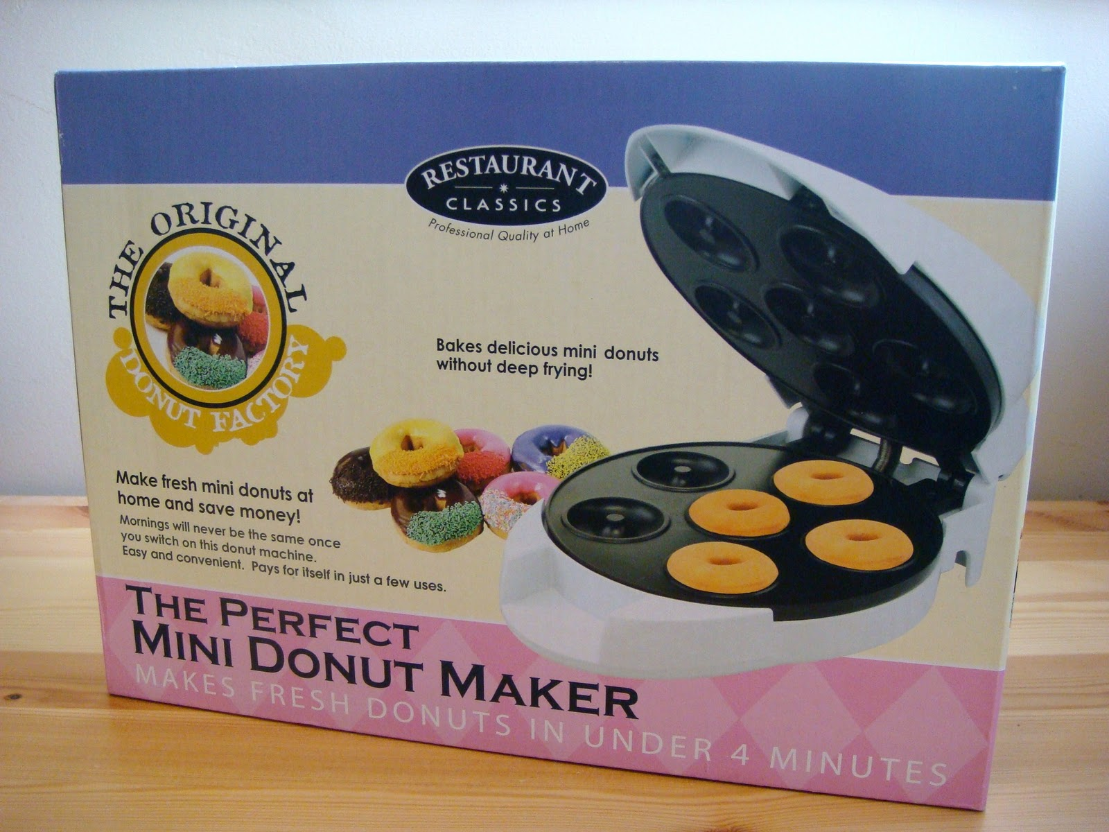 cute food for kids mini donut maker. Black Bedroom Furniture Sets. Home Design Ideas