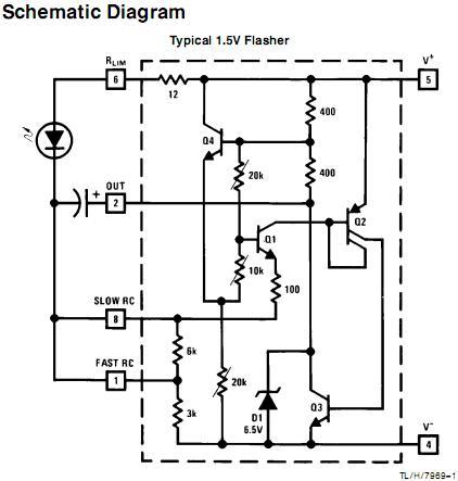 lm3909 led flasher electro,circuit, schema \u0026 datasheetlm3909 led flasher