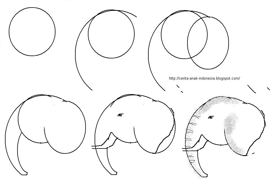 Gajah Kartun Cake Ideas And Designs