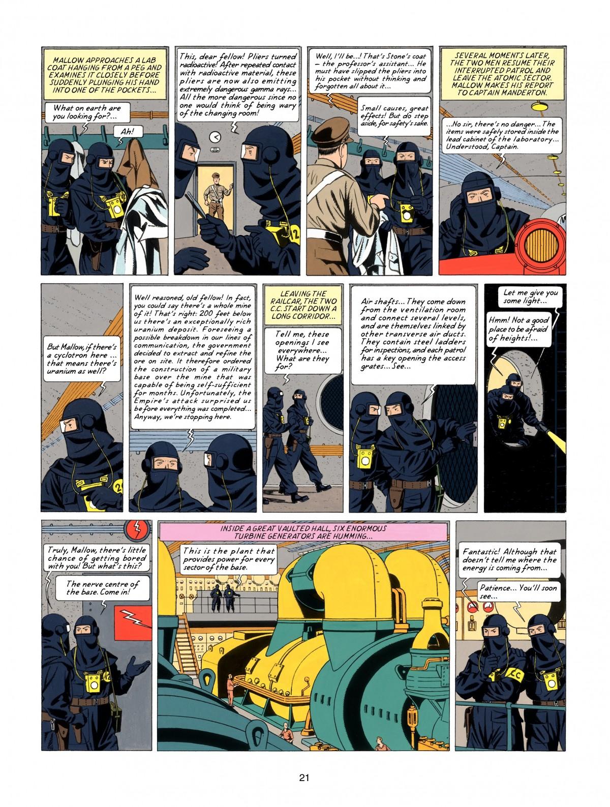 Blake Mortimer Issue 17 | Viewcomic reading comics online