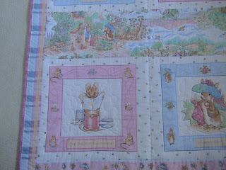 Piecemakers Beatrix Potter Baby Quilt