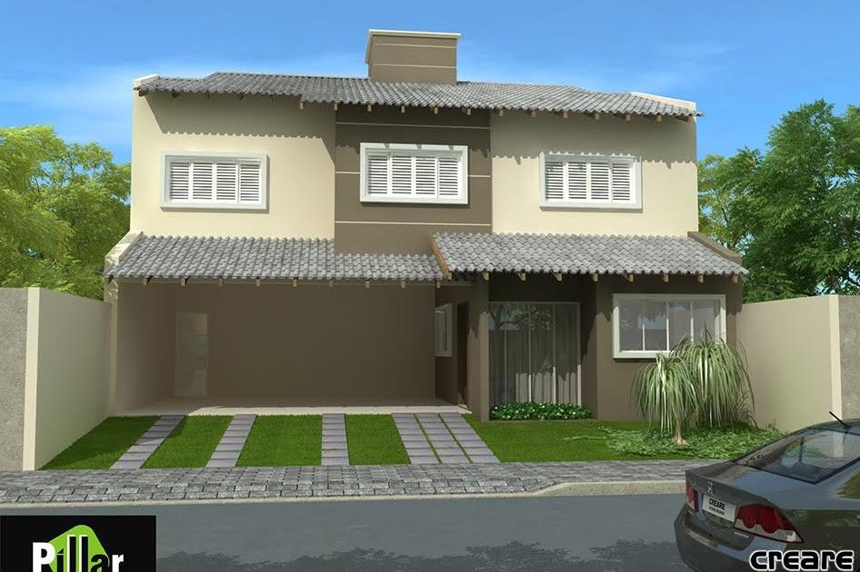 Creare studio design fachada residencial em arax mg for Creare design