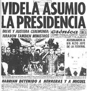 Abraza la Cruz Golpe de Estado de 1976 el comienzo del horror en la Argentina