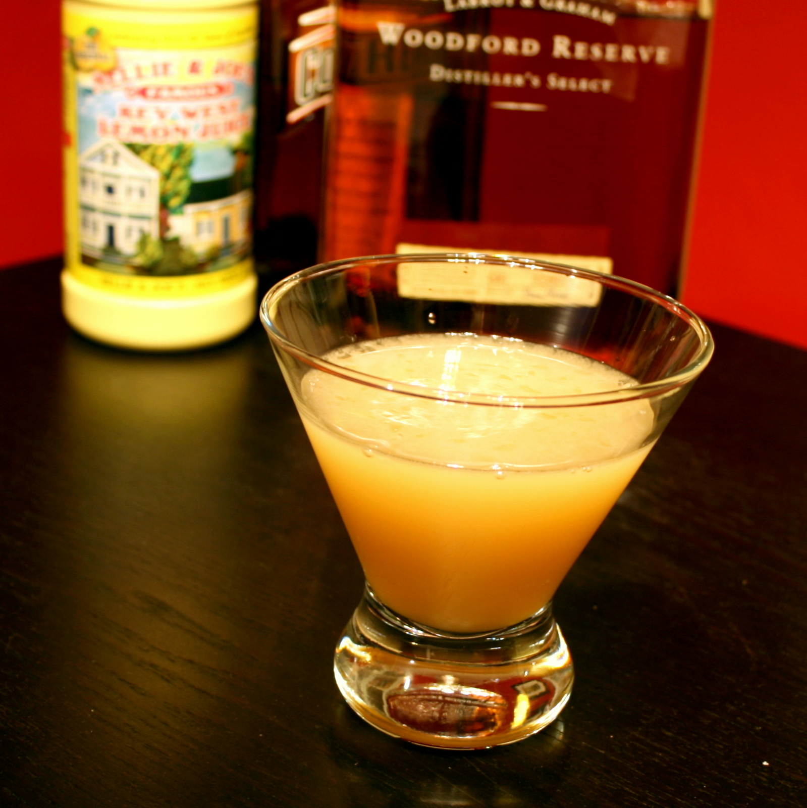 The Amateur Mixologist: Bourbon Sidecar