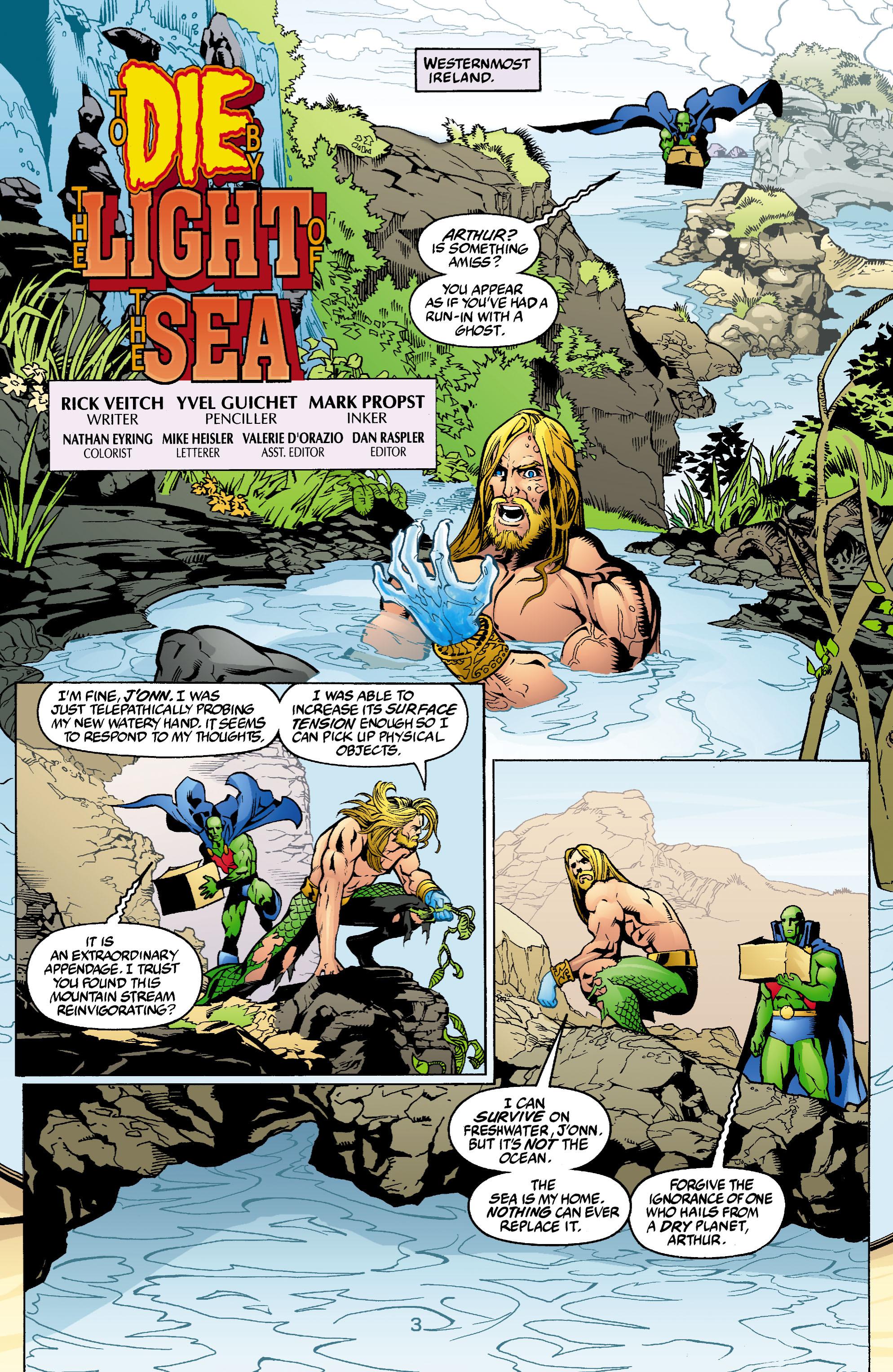 Read online Aquaman (2003) comic -  Issue #2 - 4