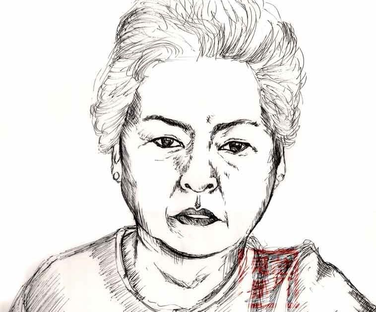 Little Pixy Boots' Blog: My Favourite Grandma's Portrait