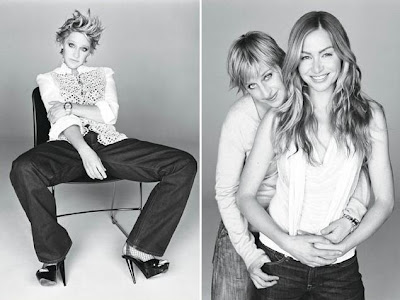 CLICK to enlarge the Ellen/Portia cuteness