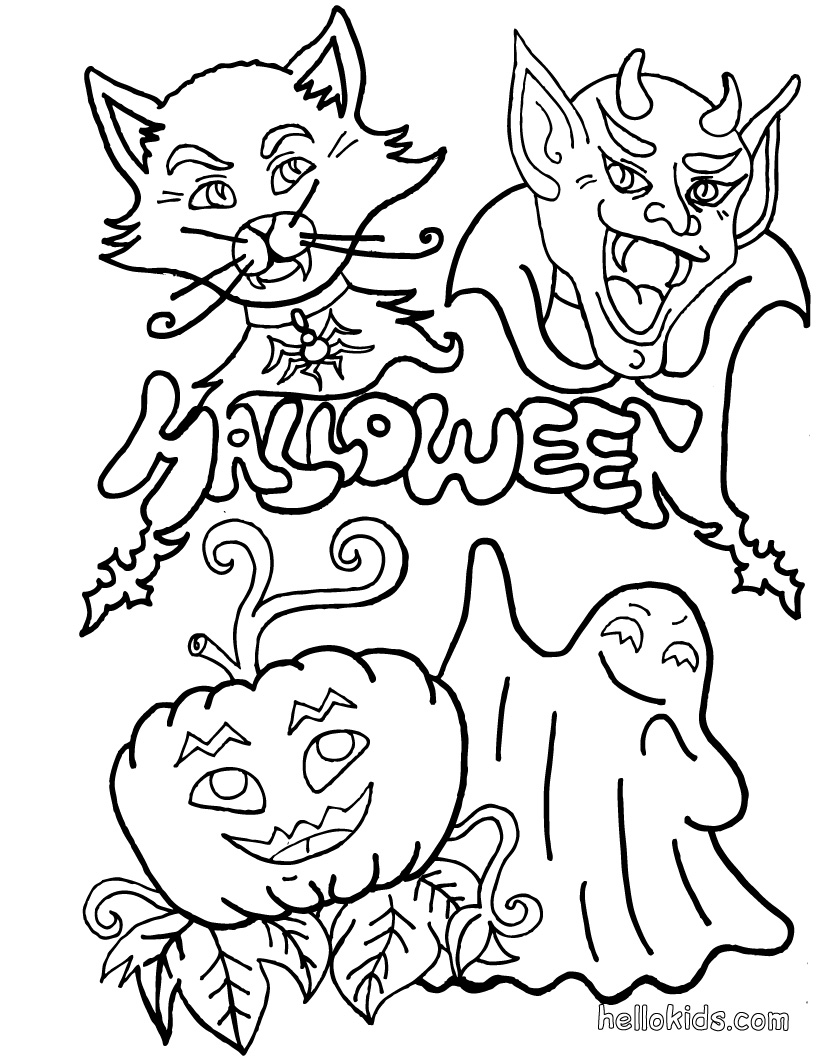 halloween coloring pages september 10