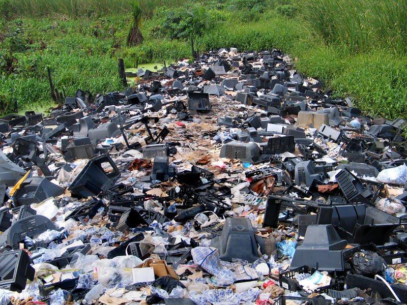 Resultado de imagen para desechos electronicos