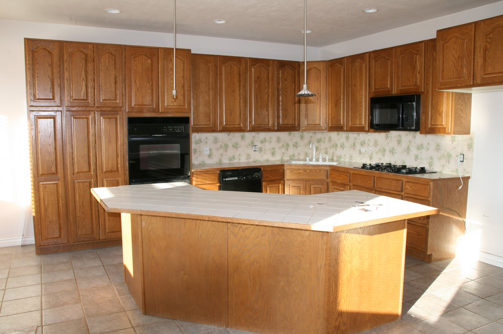 Kitchen Facelift Before And After French Country Island Retropolitan Part Deux