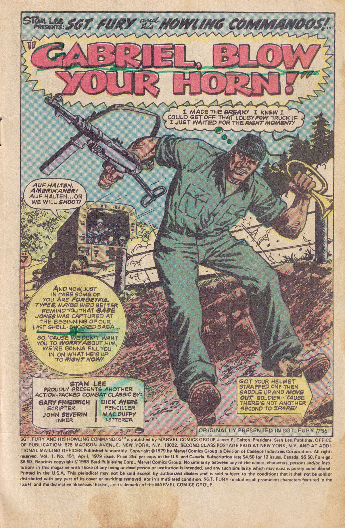 Read online Sgt. Fury comic -  Issue #151 - 3