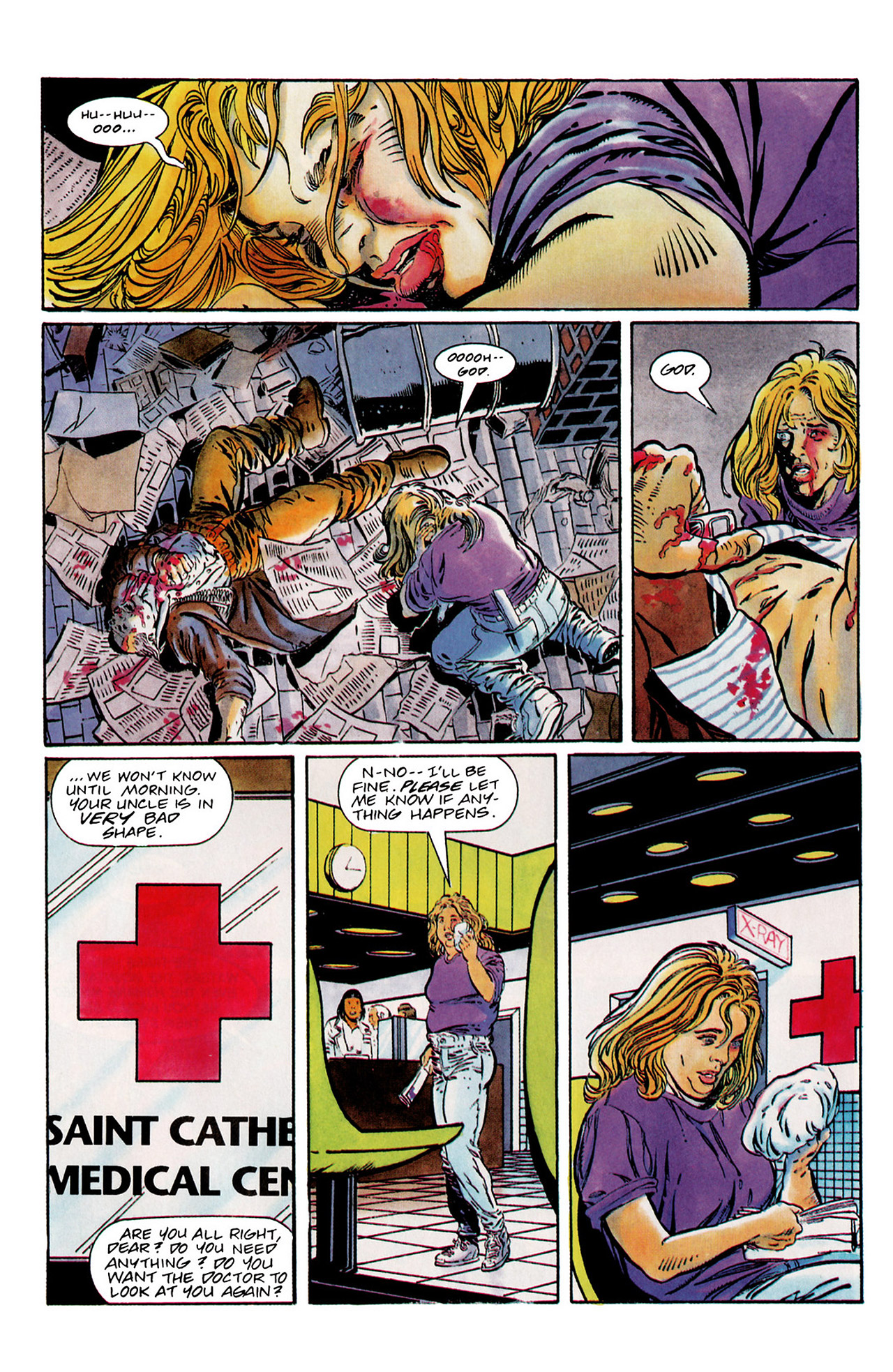 Read online Harbinger (1992) comic -  Issue #13 - 15