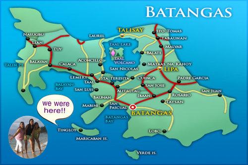 Philippine Map Manila Subic