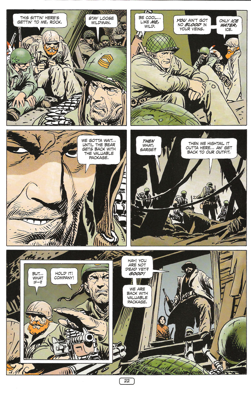 Read online Sgt. Rock: The Prophecy comic -  Issue #1 - 24