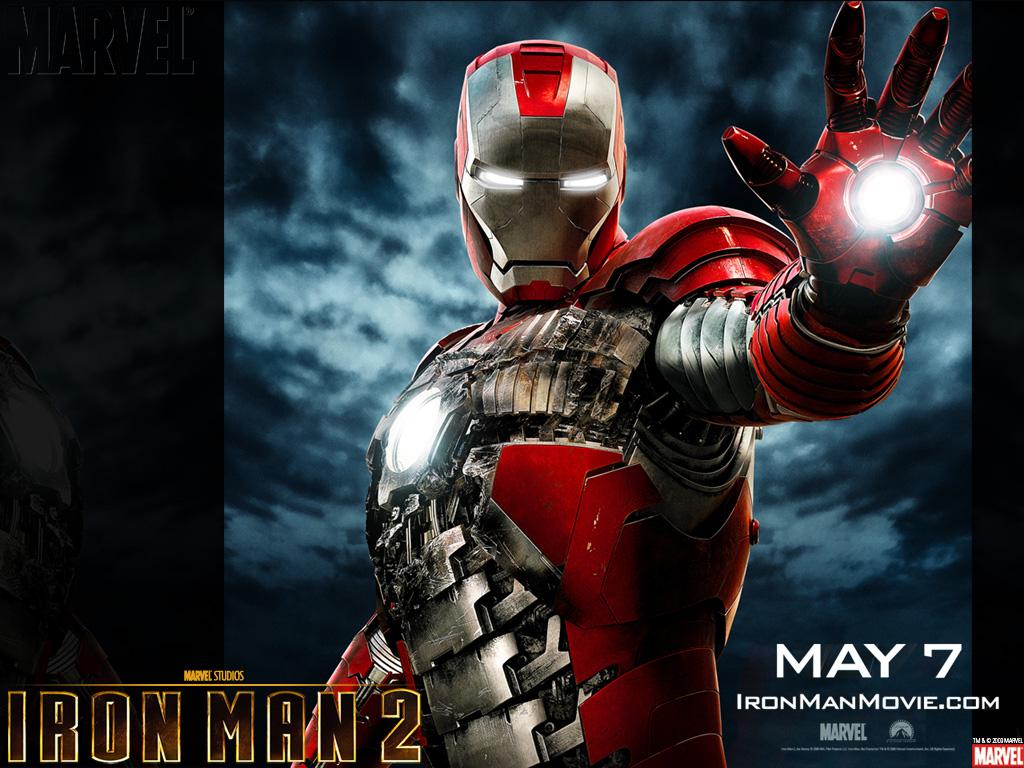 Iron Man 2 Black Background Movies Wallpaper: Iron Man 2 Movie Wallpaper