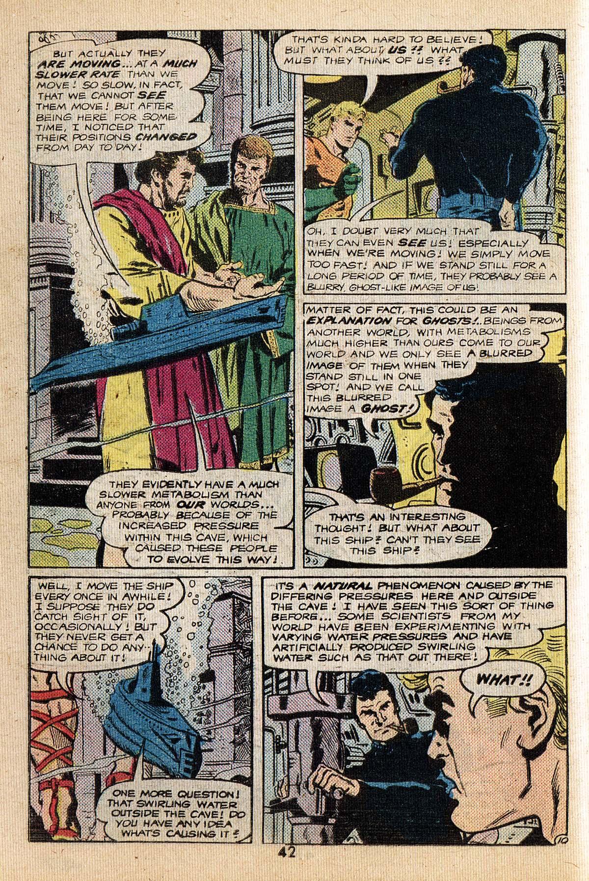 Read online Adventure Comics (1938) comic -  Issue #494 - 42