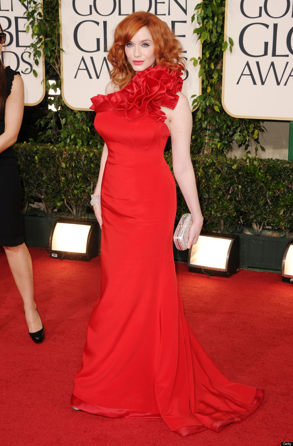 Fashion News Red Hot Red Carpet Golden Globes 2011
