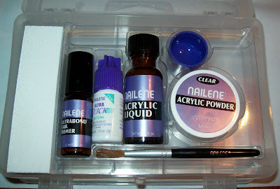 nailene deluxe salon acrylic kit review the good the bad