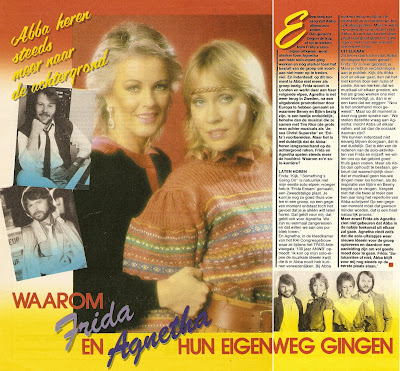 ABBA The Articles: Hitkrant, May 1983: That's why Frida and Agnetha