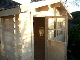 Log Cabin Blackpool Installation Near Lytham St Annes