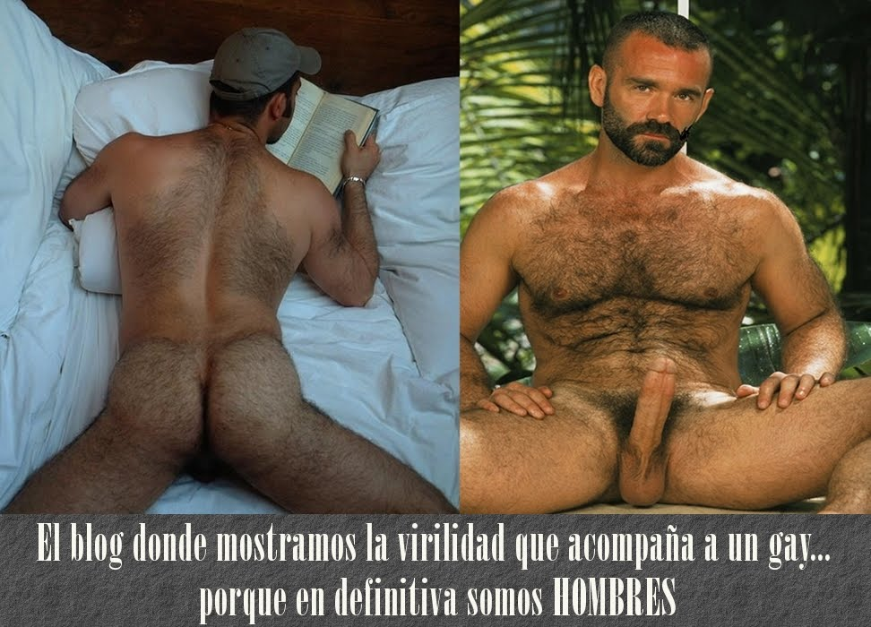 hombres velludos gay