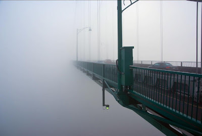 Vancouver in Fog