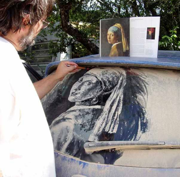 Dirty Car Art - AWESOME!!