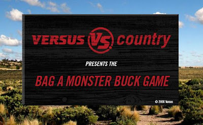 Bag A monster Buck Game