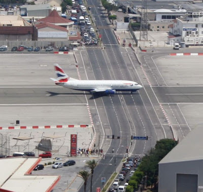 Gibraltar's airport