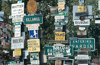 Sign Post Forest - Watson Lake Yukon, Canada