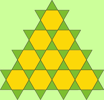 How many triangles of any size can you find in this figure?