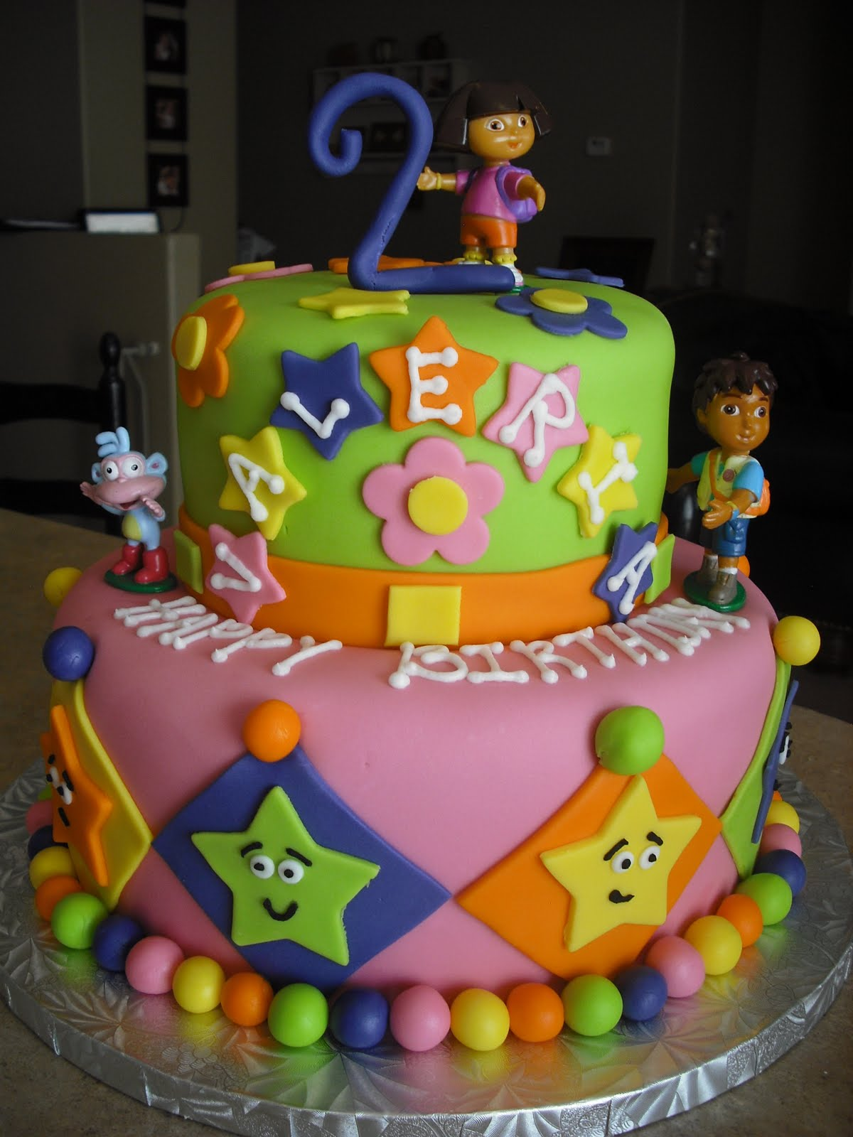 Sprinklebelle Dora The Explorer Cake