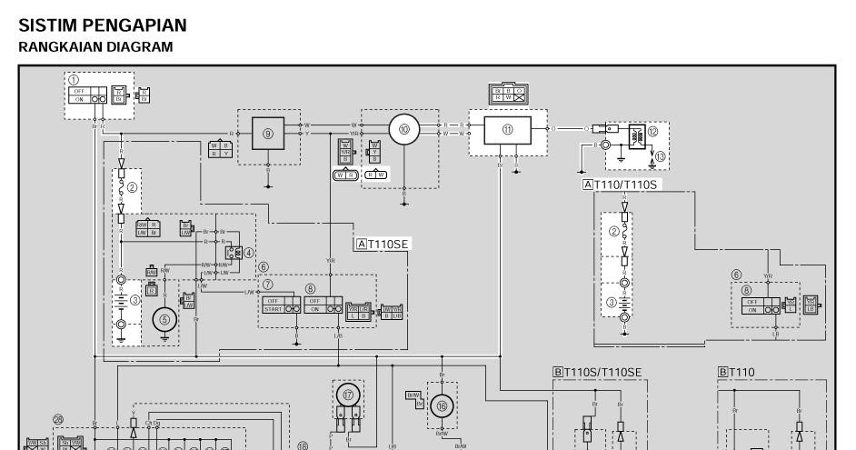 system pengapian yamaha vega r motor sport 72 vega wiring diagram