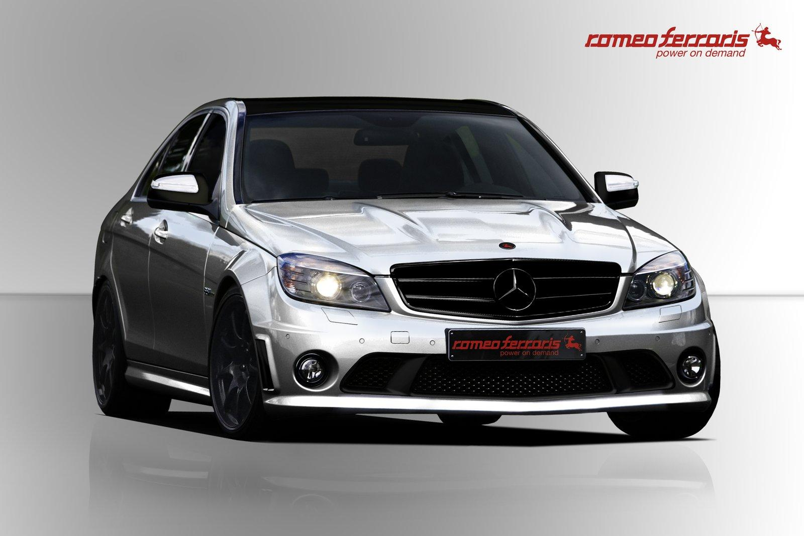 2010 mercedes benz c63 amg by romeo ferraris new car used car reviews picture. Black Bedroom Furniture Sets. Home Design Ideas