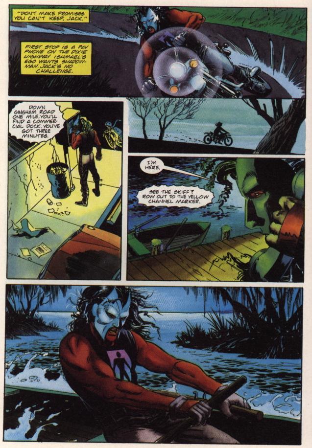 Read online Shadowman (1992) comic -  Issue #36 - 16
