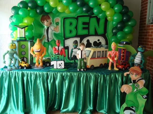 decoração ben 10 festa infantil