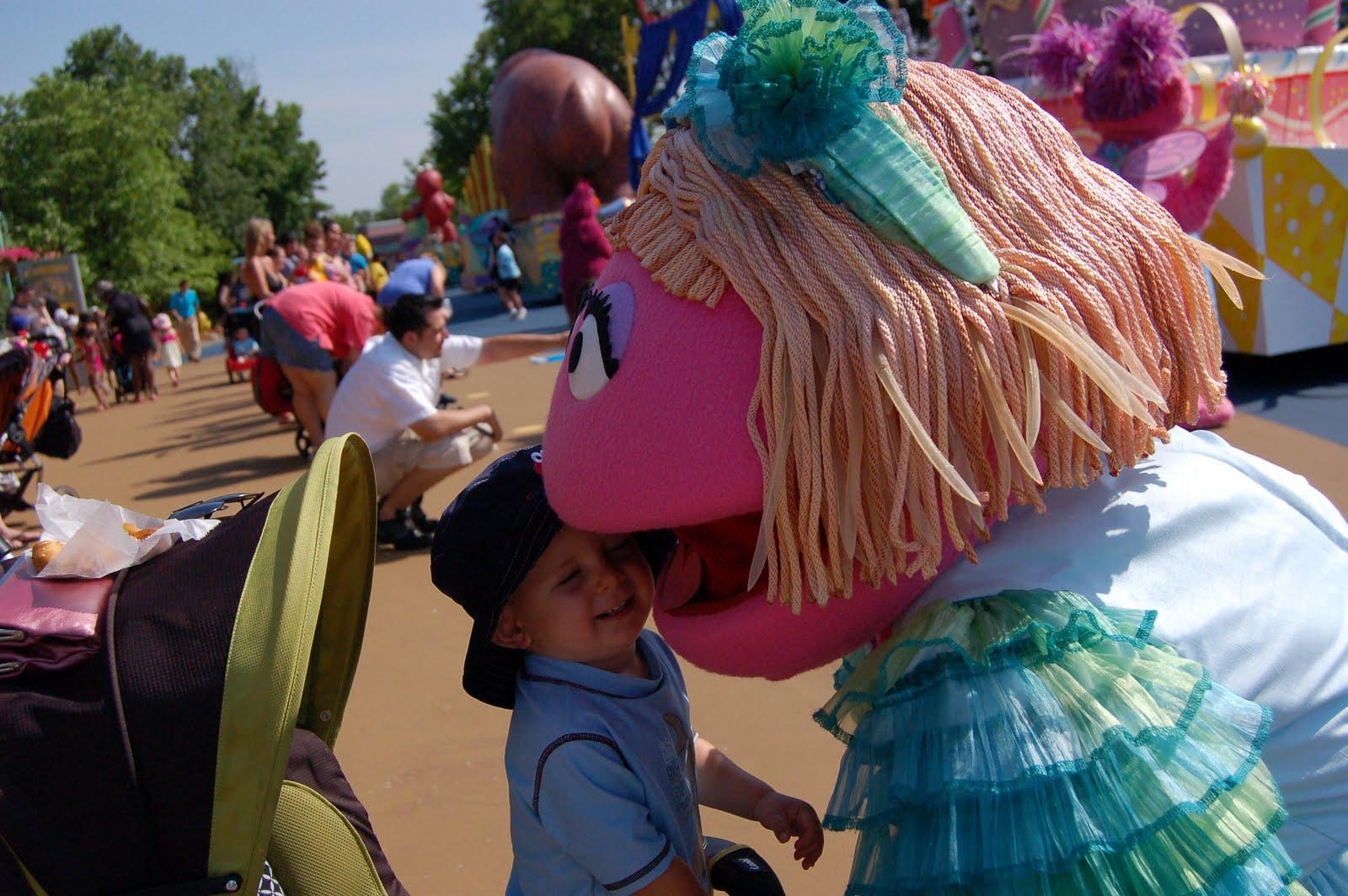 Big Bird Sesame Place Parade Balloon
