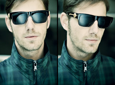 32f8cffe84 These are two photos i did of my brother rocking vintage versace shades