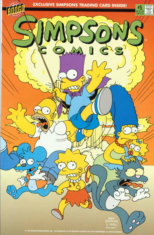 Read online Simpsons Comics comic -  Issue #5 - 1