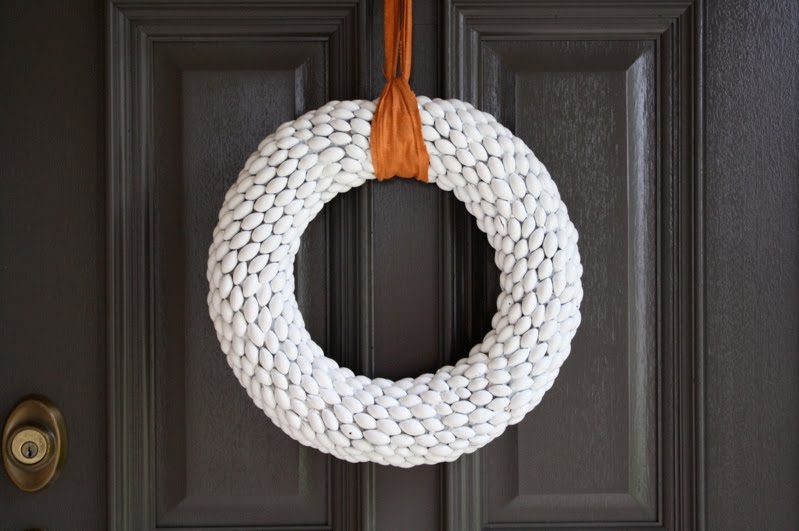 Diy woodland pinecone wreath tutorial youtube.
