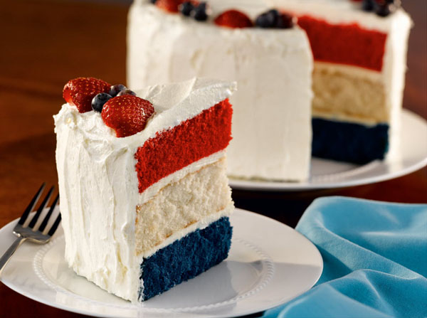 Unusual 2 Tasty: Cake Tuesday: Red, White And Blue