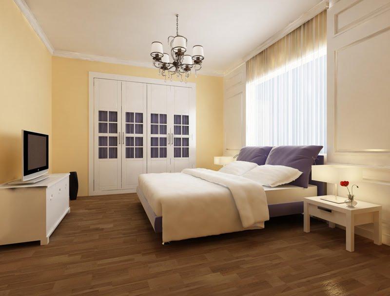 Dormitorio semiclásico
