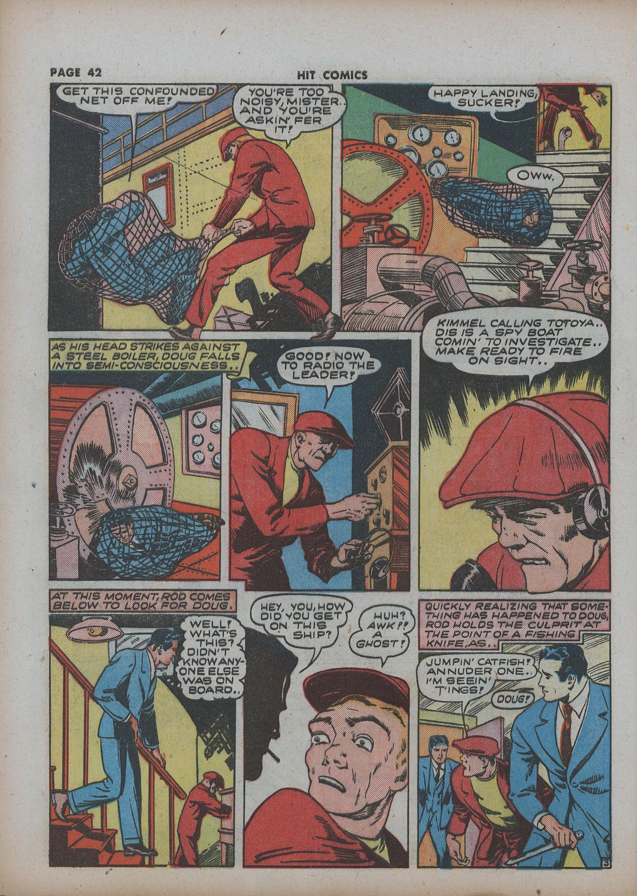 Read online Hit Comics comic -  Issue #22 - 44
