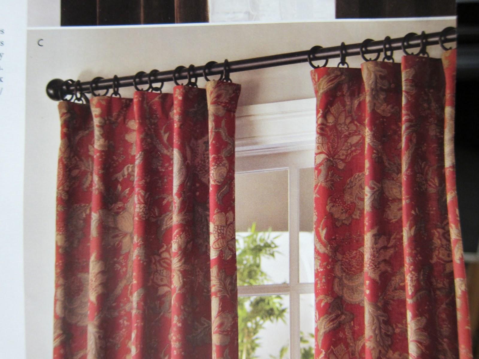 A Maiden Hair Fern: New Kitchen Curtains